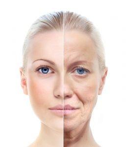 opuštena koža lica